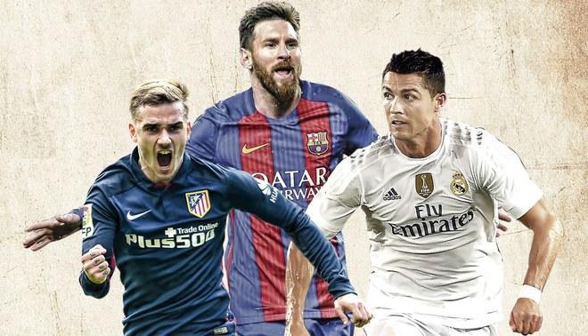 Liga Santander: mira el fixture del Barcelona, Real Madrid y Atlético
