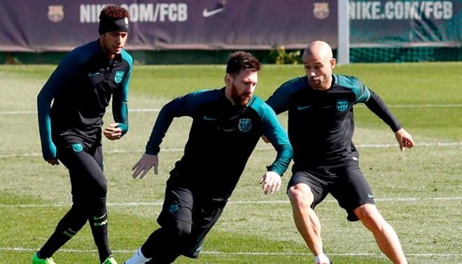 Barcelona: Javier Mascherano se refirió a la posible partida de Neymar y le dio con palo