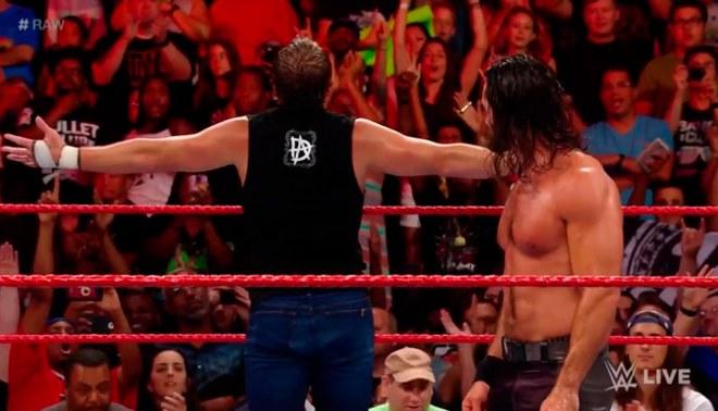 WWE Raw: ¿The Shield regresó? Dean Ambrose y Seth Rollins ganarona The Miz y compañía