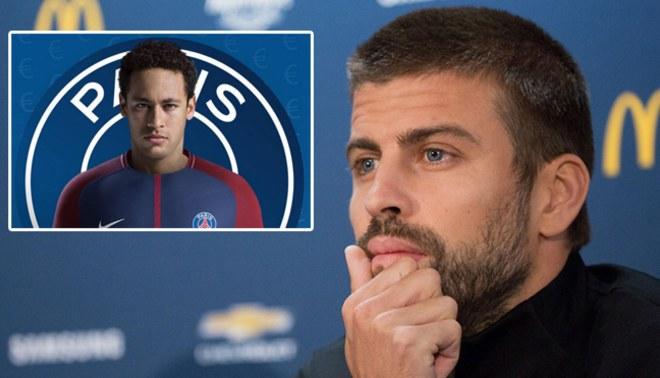 """Gerard Piqué roza el ridículo en el caso Neymar: """"El 'se queda' fue una opinión personal, nada oficial"""""""