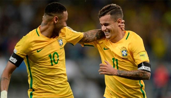 """¿Barcelona? Real Madrid, el verdadero """"club de sus sueños"""" de Neymar y Philippe Coutinho"""