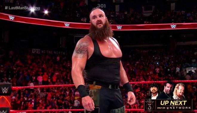 WWE Raw: Braun Strowman venció a Roman Reigns con la ayuda de Samoa Joe [VIDEOS]