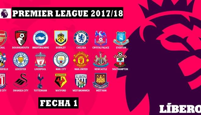 Premier League: Resutlados y tabla de posiciones tras la jornada 1 del torneo inglés
