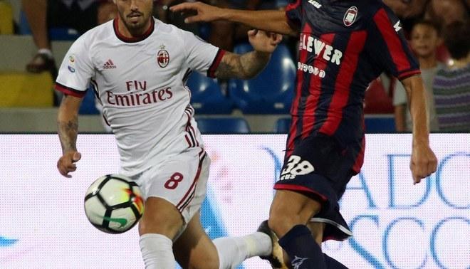 ¡El Figo del Milan!