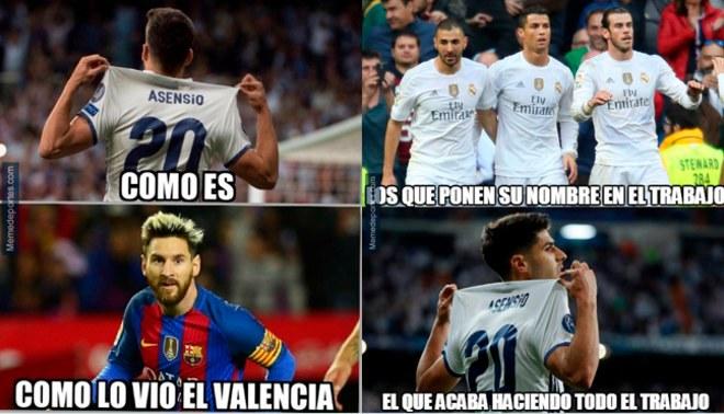 Real Madrid, víctima de memes tras su empate 2-2 ante el Valencia por la Liga Santander [FOTOS]