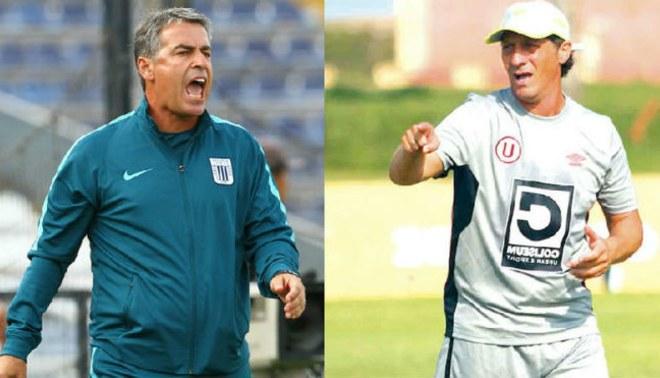 Alianza Lima vs. Universitario: Pablo Bengoechea y Pedro Troglio se jugarán su partido aparte
