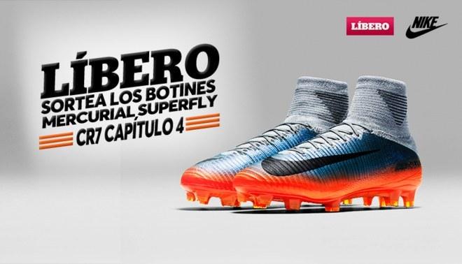Líbero y Nike te regalan las nuevas Mercurial Superfly CR7 Chapter 4 ad29420bb5895