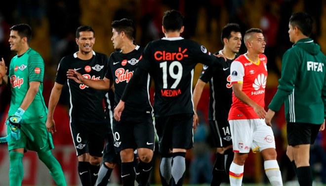 Libertad empató 1-1 ante Independiente Santa Fe y clasificó a cuartos de final de la Copa Sudamericana [VIDEO]