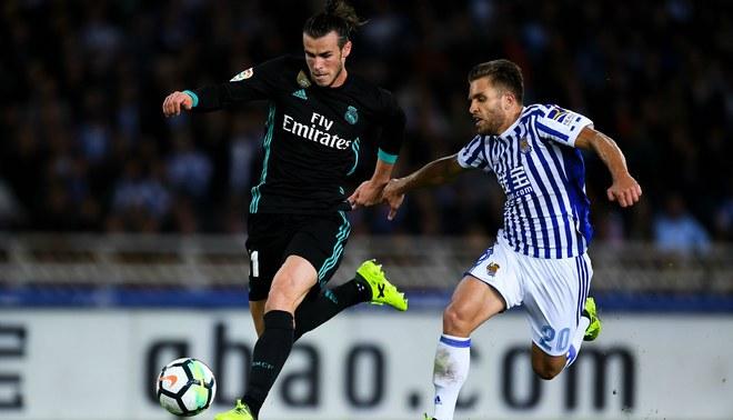 Real Madrid: Gareth Bale corrió a 35 kilómetros por hora ante la Real Sociedad