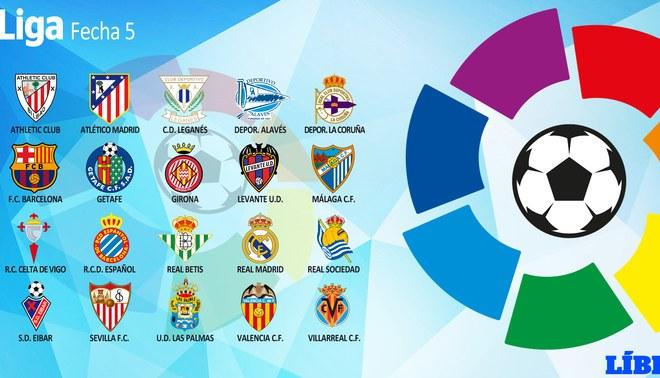 Liga Santander: Revisa la tabla de posiciones y los resultados de la fecha 5