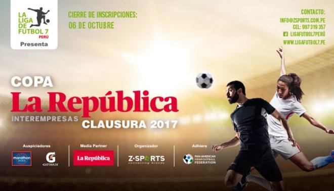 Torneo Inter Empresas de Fútbol Siete Clausura 2017 – Copa La República