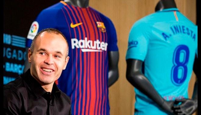 Barcelona: Andrés Iniesta renovó de por vida con el club catalán