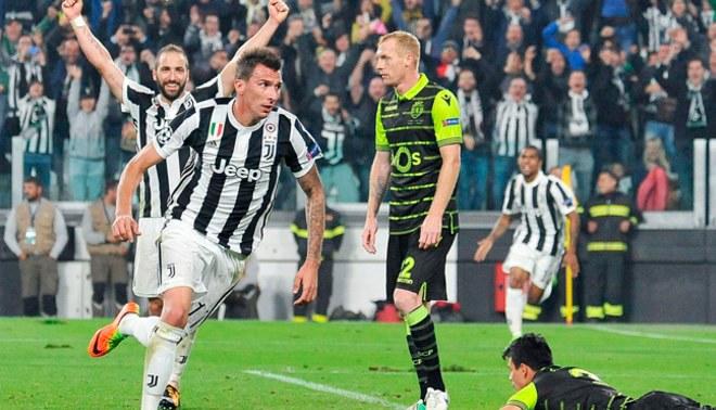 Juventus sufrió más de la cuenta para ganar en la Champions League