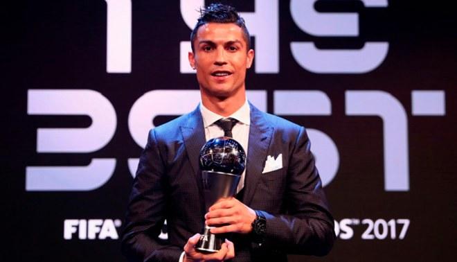 The Best FIFA 2017: Cristiano Ronaldo se coronó como el mejor futbolista de la temporada