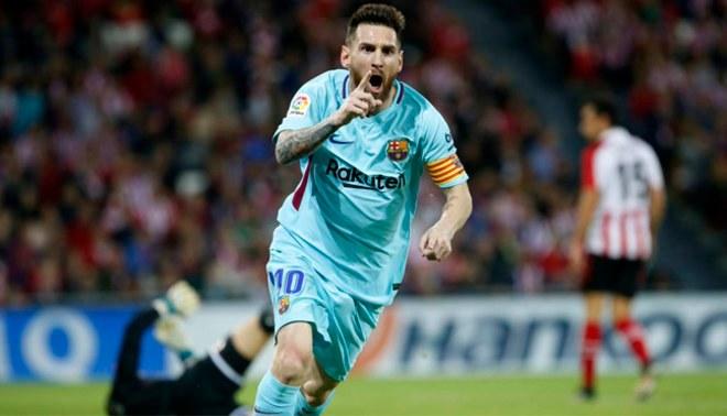 MÁS PUNTERO QUE NUNCA! Barcelona ganó 2-0 a Athletic Bilbao por la ... 2ac28abd7939e