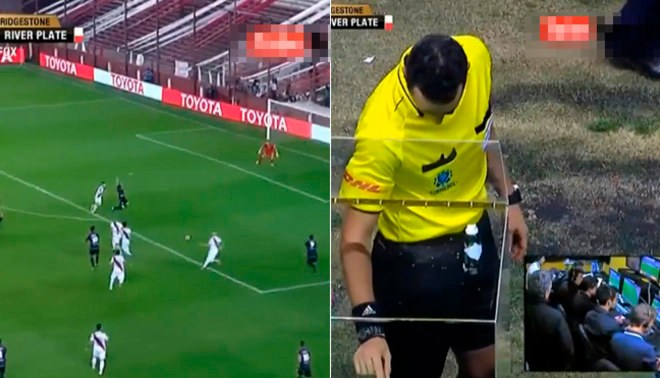 River Plate vs. Lanús: VAR se utilizó por primera vez en la Copa Libertadores y causó polémica [VIDEO]