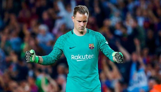 Barcelona: Ter Stegen se convirtió determinante en el club culé [FOTO]