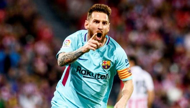 Barcelona: Lionel Messi supera él solo a diez equipos de la liga española