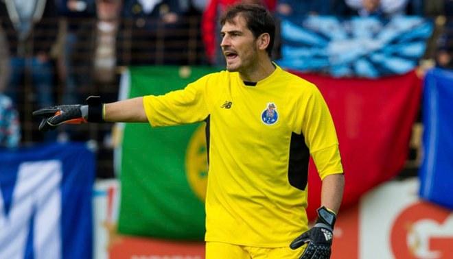 Iker Casillas se quedó con el Premio Golden Foot 2017