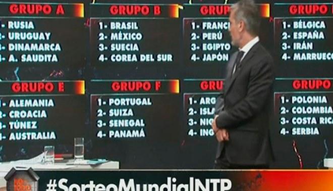 Sorteo Rusia 2018: así quedaría el grupo de la Selección peruana, según programa de TV argentino [VIDEO]