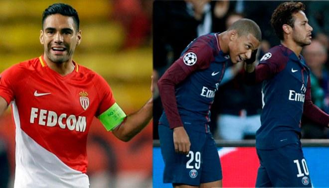 Mónaco vs. PSG EN VIVO ONLINE: Falcao se enfrenta a Neymar ...