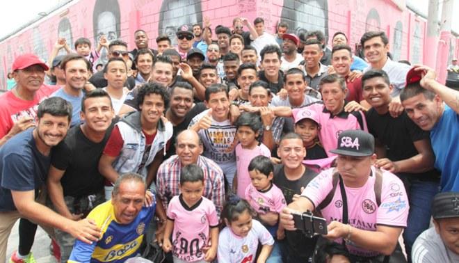 Sport Boys: Plantel rosado celebró a lo grande en el barrio Atahualpa