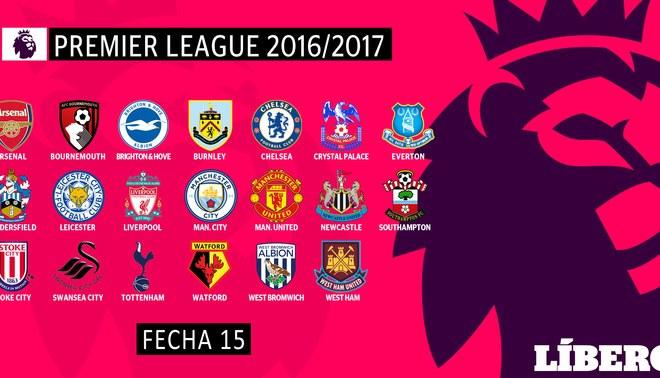 Premier League: Revisa los resultados y la tabla de posiciones tras la jornada 15