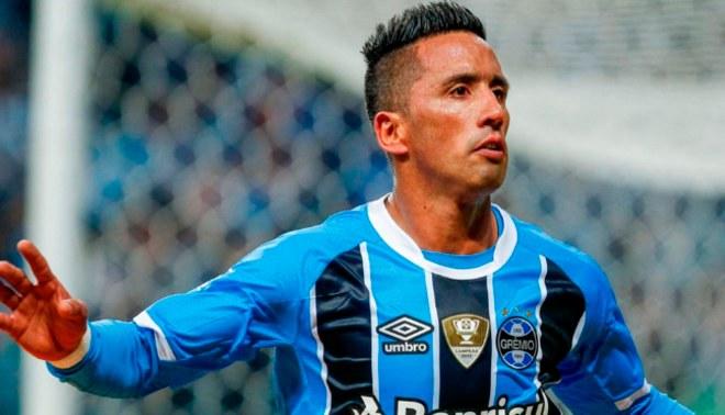Lucas Barrios deja el Gremio tras la derrota en el Mundial de Clubes