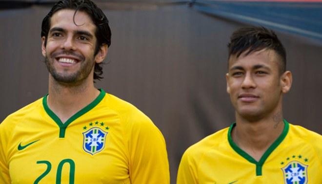 """Neymar y su emotivo mensaje a Kaká: """"Eres un gran ejemplo para mí"""""""