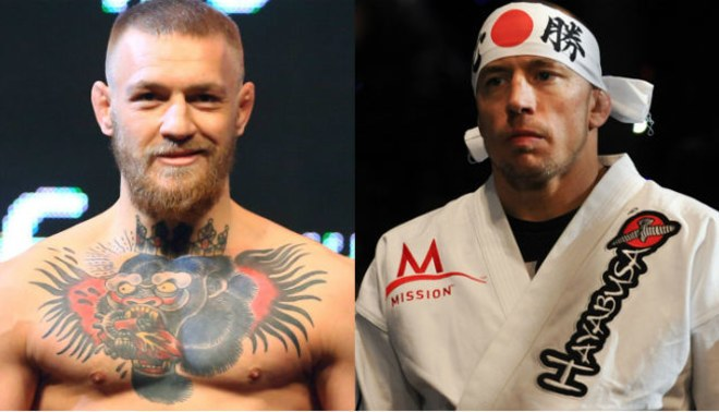 Conor Mcgregor vs. Georges Saint Pierre en planes para superevento del UFC