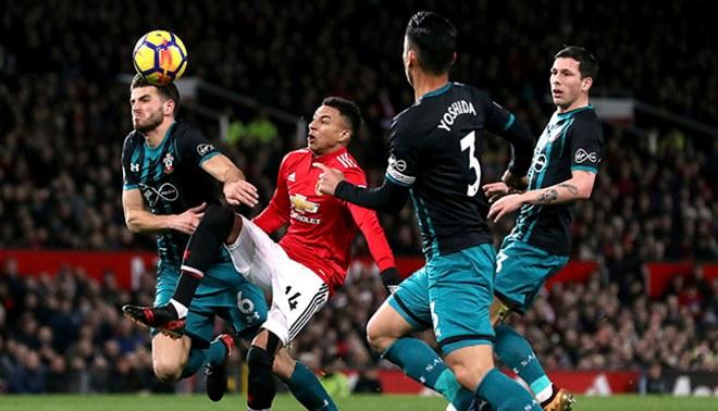 Manchester United empató 0-0 ante Southampton por la Premier League