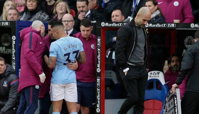 Manchester City: Pep Guardiola confirma que Gabriel Jesús estará fuera por dos meses