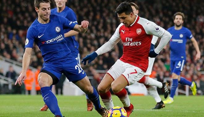 Arsenal y Chelsea empataron 2-2 en partidazo por la Premier League [VIDEO]