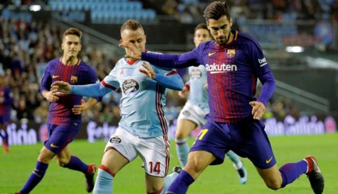 Barcelona apenas empató 1-1 con Celta de Vigo en partido de ida de la Copa del Rey