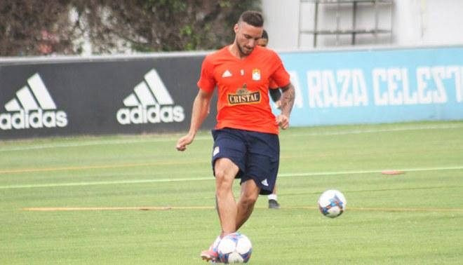 Sporting Cristal: Emanuel Herrera la rompió en los entrenamientos y se cansó de hacer goles