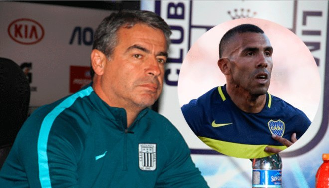 """Alianza Lima: Pablo Bengoechea: """"El fichaje de Carlos Tévez por Boca Juniors es bueno para todos"""""""