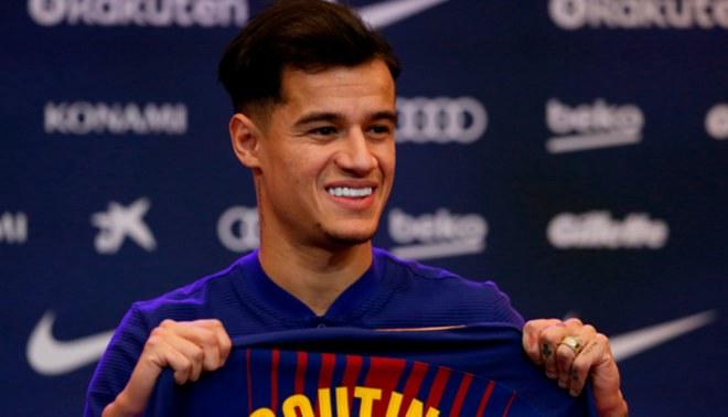 Philippe Coutinho  ¿Qué número de camiseta utilizará en Barcelona  51f601610c774