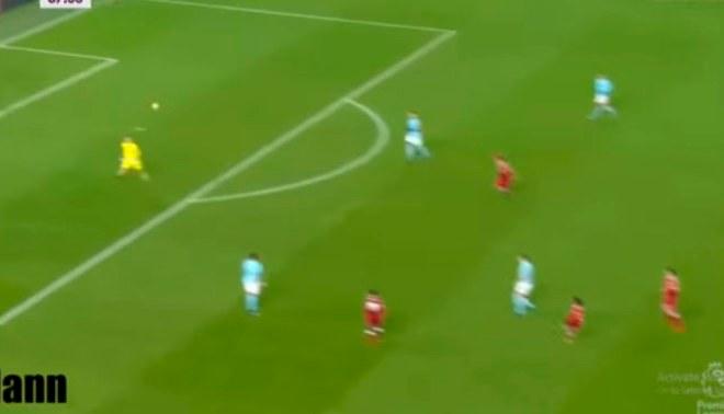 Mohamed Salah y su golazo que dejó en ridículo al portero del Manchester City [VIDEO]