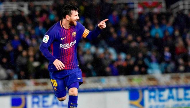 Barcelona: Lionel Messi se convirtió en el máximo goleador de las ligas europeas