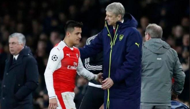 Arsene Wenger minimiza partida de Alexis Sánchez al Manchester United
