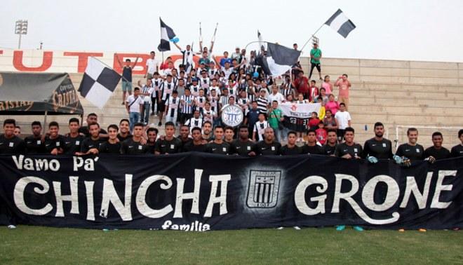 Alianza Lima: Hinchada grone se lució durante la pretemporada en Chincha