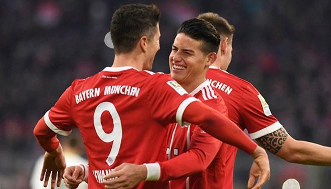 Bayern Múnich: James Rodríguez llegó a las 101 asistencias en Europa [VIDEO]