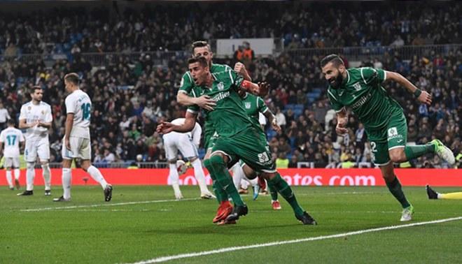 Real Madrid cayó 2-1 ante Leganés y fue eliminado de la Copa del Rey [VIDEO]