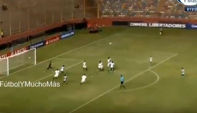 Universitario vs. Oriente Petrolero: Aldo Corzo marcó gol tras blooper del arquero [VIDEO]