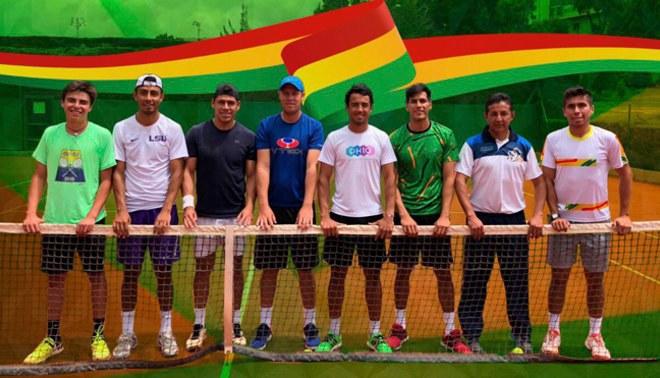 Copa Davis: bolivianos apelan a todo para ganarle a Perú