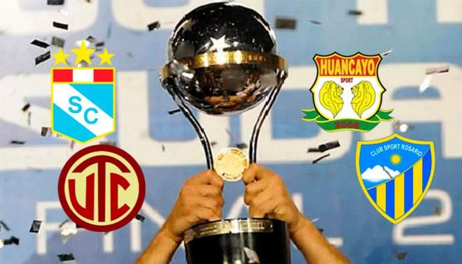 Copa Sudamericana: Fecha y hora del debut de los equipos peruanos en el certamen