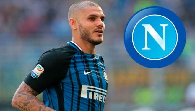 """Napoli quiere """"atrasar"""" al Real Madrid y fichar a Mauro Icardi"""