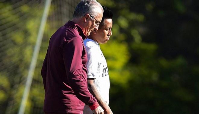 Christian Cueva fue elogiado por el técnico del Sao Paulo, Dorival Júnior