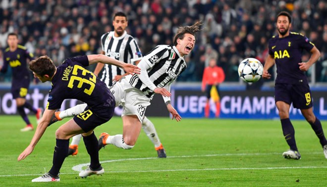 Juventus vs. Tottenham: resumen del partido, videos y goles en Champions League