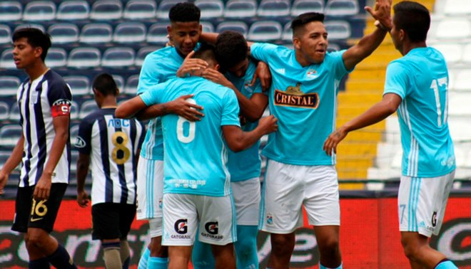Sporting Cristal goleó 6-1 a Alianza Lima por el Torneo de Reservas